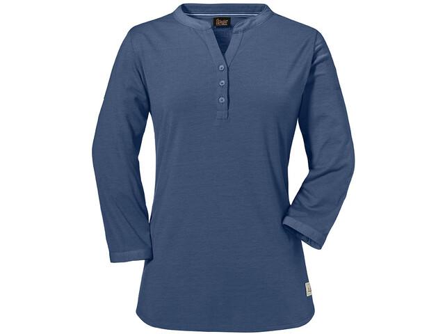 Schöffel Johannesburg Camiseta de manga larga Mujer, blue indigo